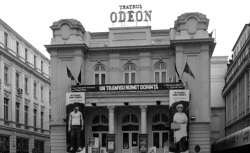 Teatrul <strong>Odeon.</strong> Fostul palat domnesc
