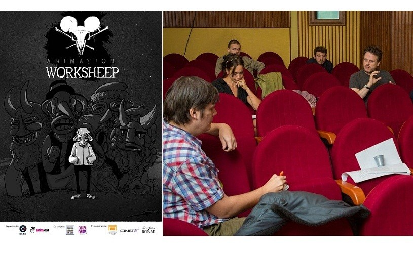 """,,Animation Worksheep"""", primul atelier internaţional de animaţie din România"""