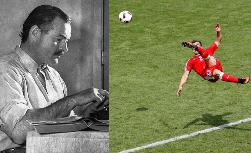 Golul lui  Shaqiri, adaptare după o poveste de Hemingway