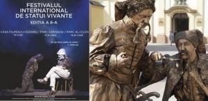 Brâncuşi, omagiat la Festivalul de Statui Vivante