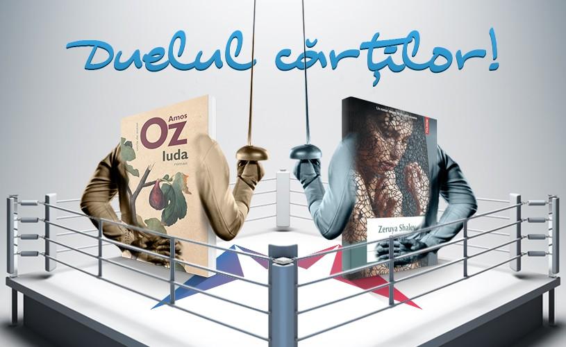 "<strong>""Durere""</strong> de Zeruya Shalev sau <strong>""Iuda""</strong> de Amos Oz? Care este cartea lunii iunie?"