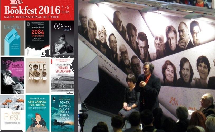 Humanitas la Bookfest 2016. Peste 30 de lansari la Editura Humanitas