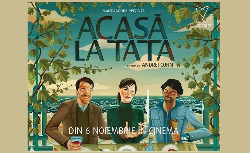 "Afișul filmului ""Acasa la tata"", argint la Graphis Poster Annual"