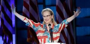 Meryl Streep, discurs emoționant pentru susținerea lui Hillary Clinton