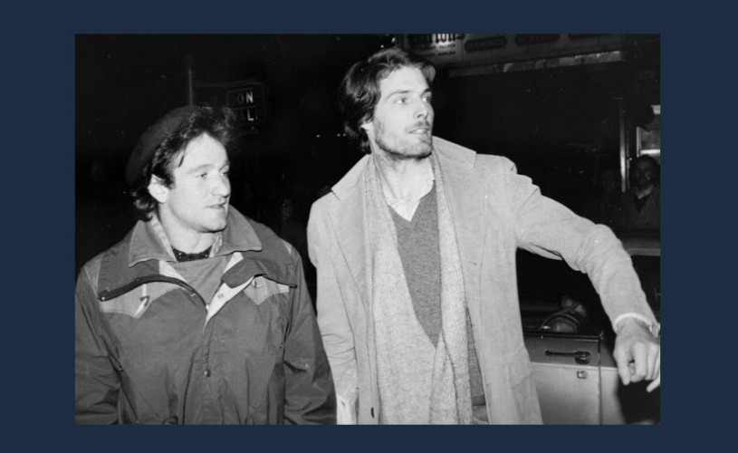 Robin Williams & Christopher Reeve. O fotografie…