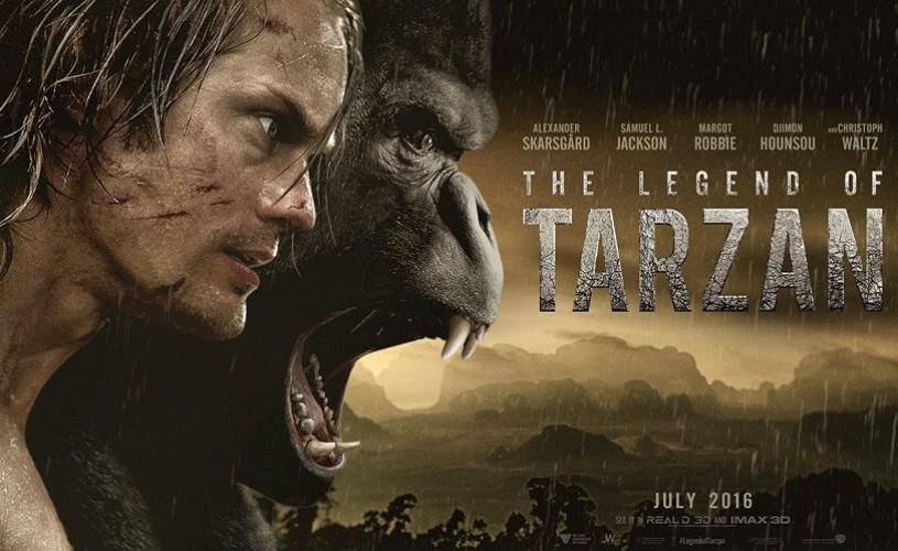Legenda lui Tarzan, pe marile ecrane din 8 iulie