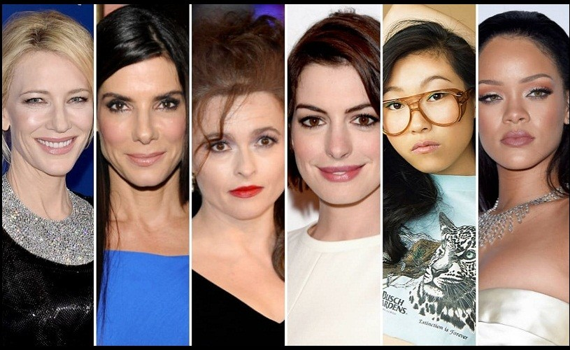 "Cate Blanchett, Sandra Bullock, Rihanna, Anne Hathaway şi Helena Bonham Carter, în ""Ocean's 8"""