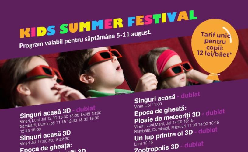 Kids Summer Festival continuă la Hollywood Multiplex