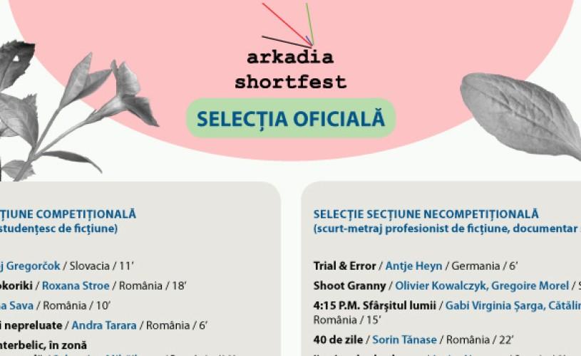 Arkadia ShortFest 2016: selecția oficială