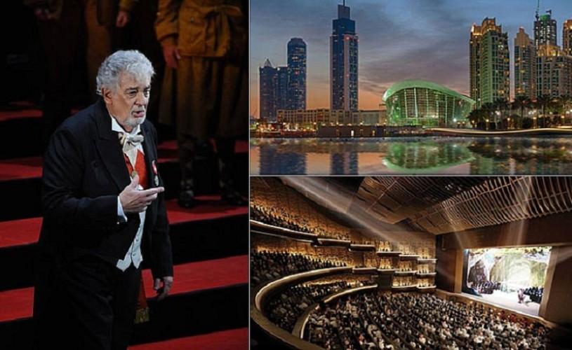 Placido Domingo inaugurează Opera din Dubai