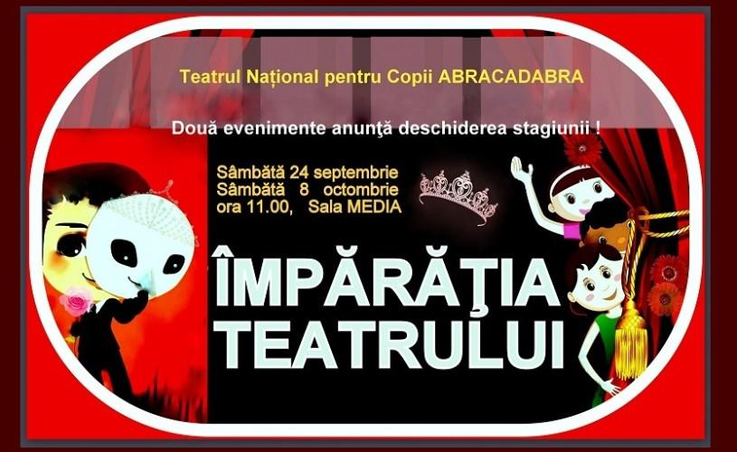 """Noua stagiune a Teatrului National pentru copii """"Abracadabra"""""""