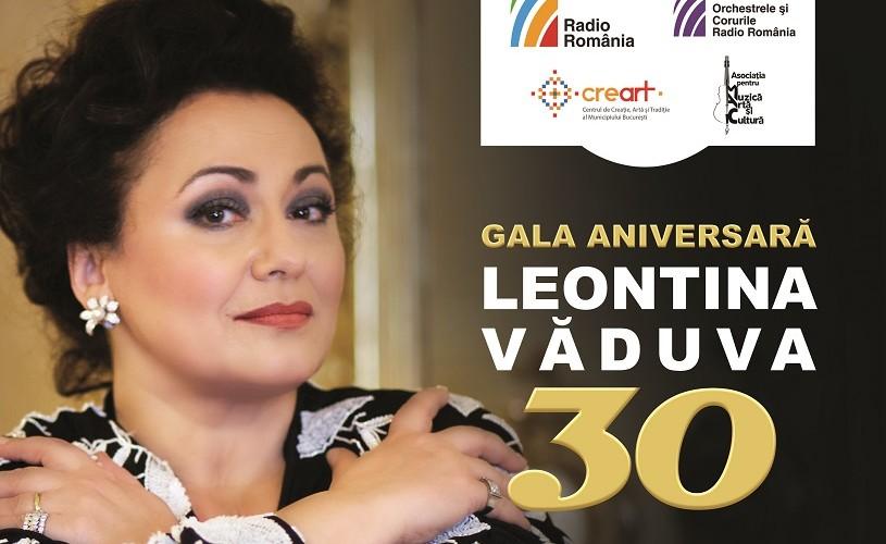 "Sala Radio prezintă Gala Aniversară ""Leontina Văduva 30"""