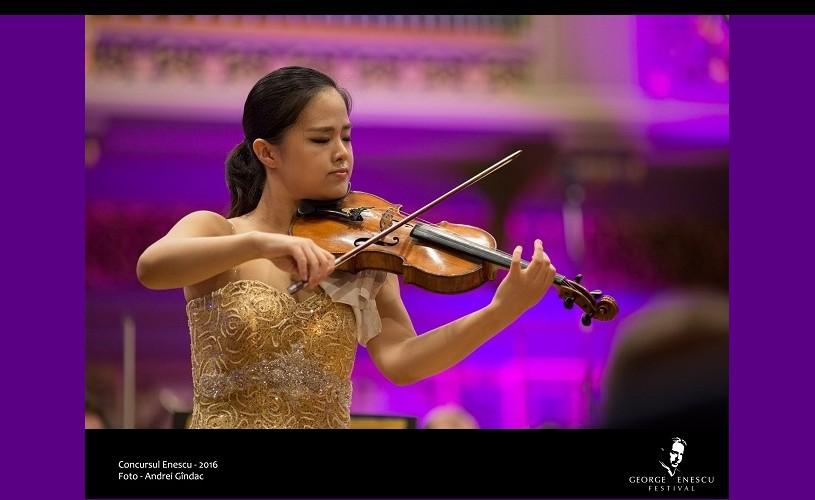 Gyehee Kim (Coreea de Sud) a câștigat Concursul Enescu 2016 , Secțiunea Vioară