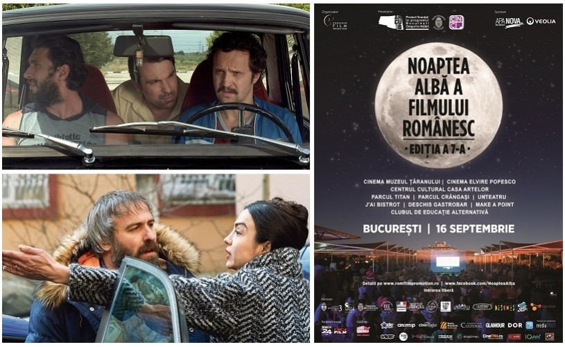 """""""Sieranevada"""", """"Două lozuri"""" și proiecții-surpriză la Noaptea Albă a Filmului Românesc"""