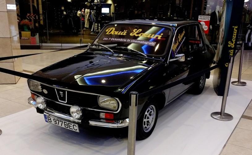 Dragos Bucur intra cu Dacia in mall!