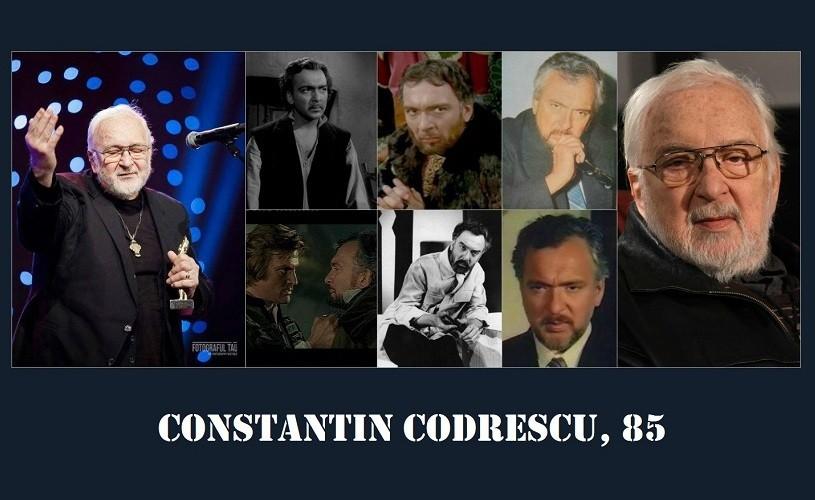Constantin Codrescu, 85 de ani!