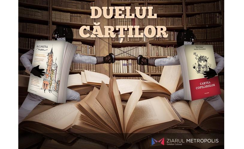 """""""Bucureștiul meu"""" sau """"Cartea copilăriilor""""? Care este cartea lunii august"""