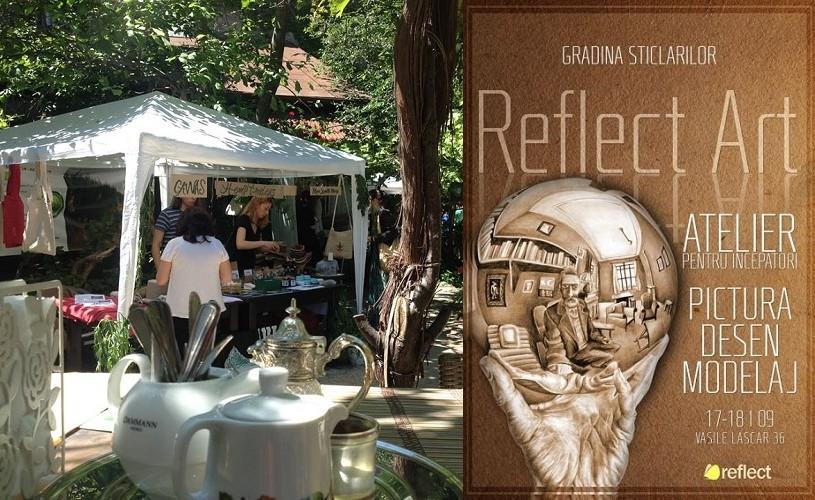 Gradina Sticlarilor se redeschide cu Atelierele de Creație ReflectArt