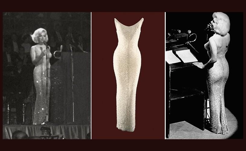 "Faimoasa rochie ""Happy Birthday, Mr. President"", scoasă la licitaţie"