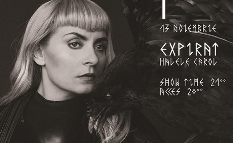 Concertul cântăreţei feroeze Eivør de la Sala Radio se mută în noul club Expirat-Halele Carol!