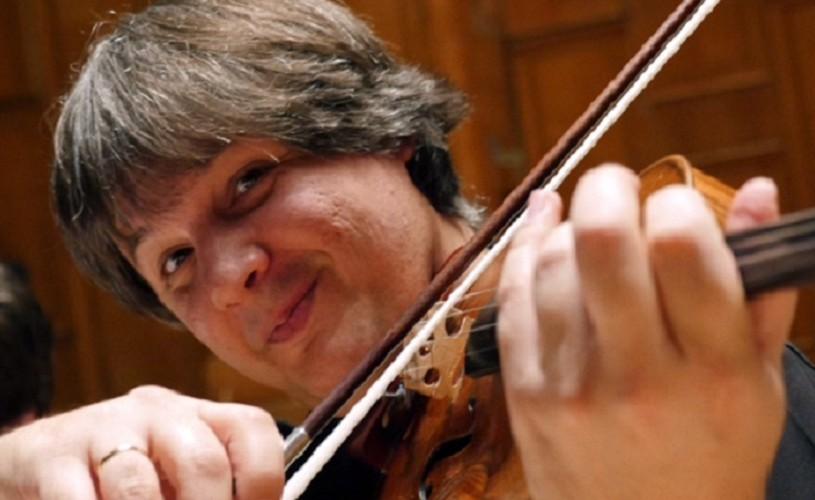 Liviu Prunaru cântă Bernstein la Sala Radio pe vioara Stradivarius Pachoud