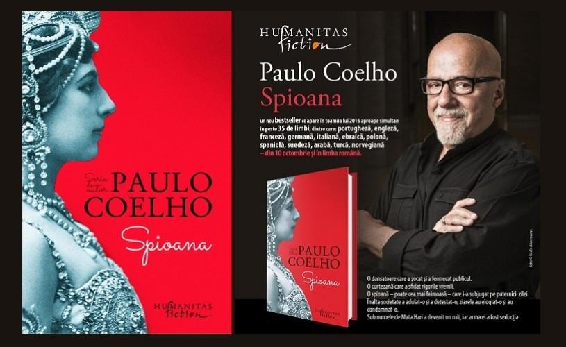 Spioana, un nou bestseller de Paulo Coelho, în librării