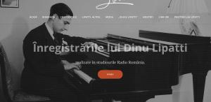 Primul site românesc dedicat marelui pianist Dinu Lipatti