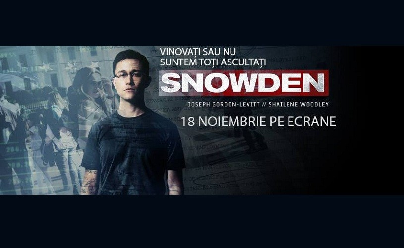 Snowden, de Oliver Stone. Filmat în Germania, de teama NSA & CIA