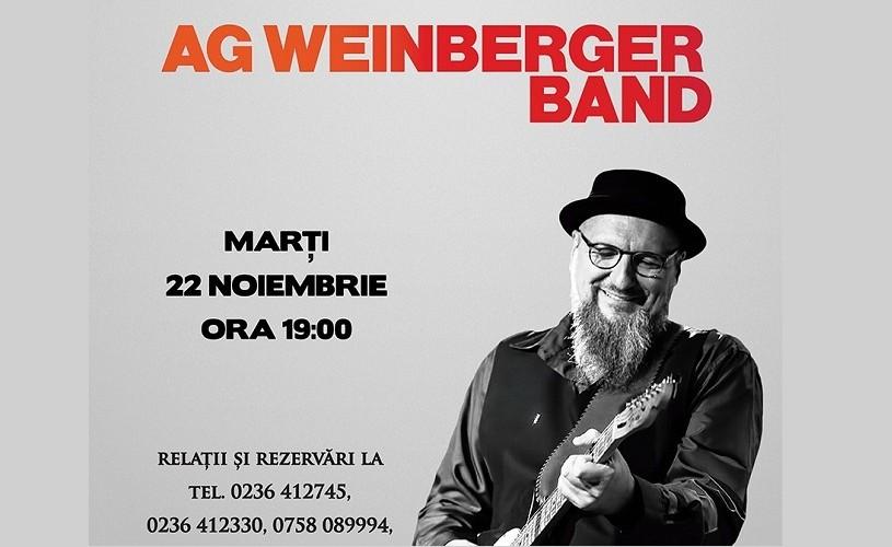 AG Weinberger Band, la Teatrul Fani Tardini din Galați