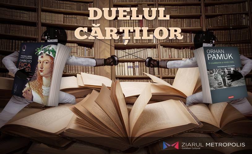 Orhan Pamuk sau Dario Fo? Care este cartea lunii septembrie