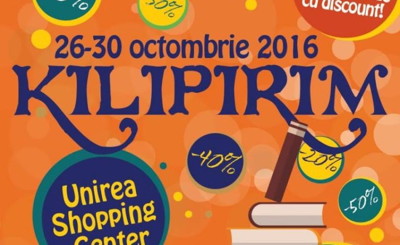 Cinci zile de cărți ieftine la Kilipirim