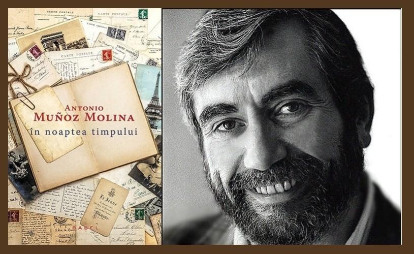 """În noaptea timpului"", de Antonio Munoz Molina, la Humanitas Cișmigiu"