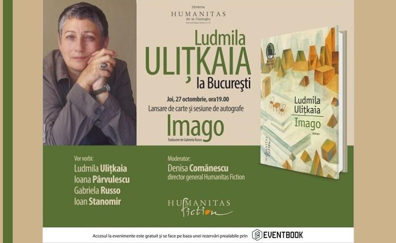 Intalnire eveniment cu Ludmila Ulitkaia