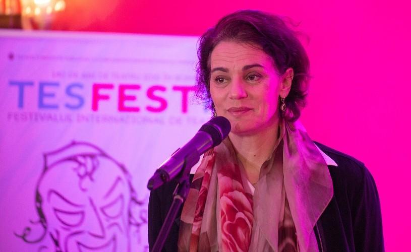 Maia Morgenstern, alături de scriitorul israelian Yoel Rippel, într-un spectacol-eveniment