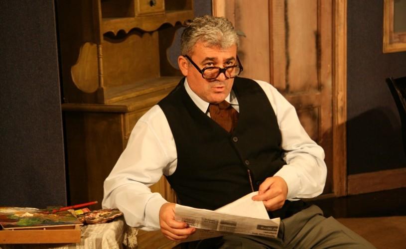 """Sorin Cociş: """"Teatrul este ca o amantă pe care dacă o înşeli, te înșală!"""""""