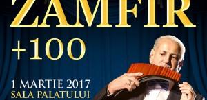 """""""Gheorghe Zamfir + 100 de artiști"""", în martie, la Sala Palatului"""