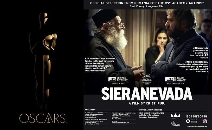 SIERANEVADA –  drumul către Oscar