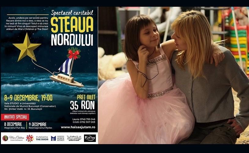 """""""Steaua Nordului"""" – Spectacol Caritabil de Crăciun, pus in scena de copiii fundațiilor umanitare"""