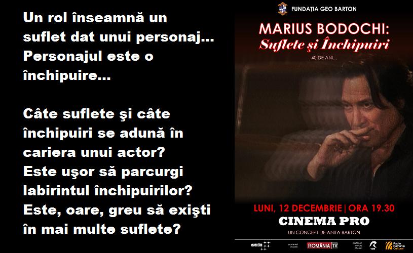 """Serata """"Marius Bodochi: Suflete şi închipuiri – 40 de ani.."""""""