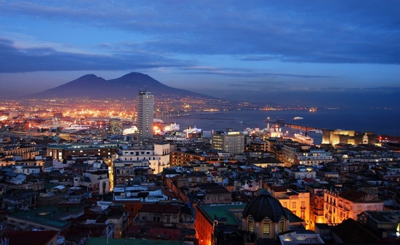 Napoli. Marea Frumusețe