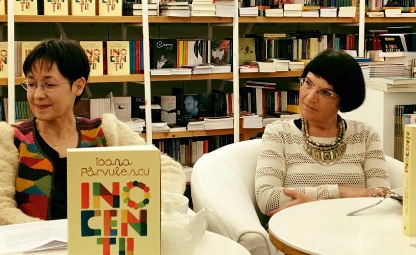 """""""Inocenţii"""",  de Ioana Pârvulescu. Lansare de carte"""