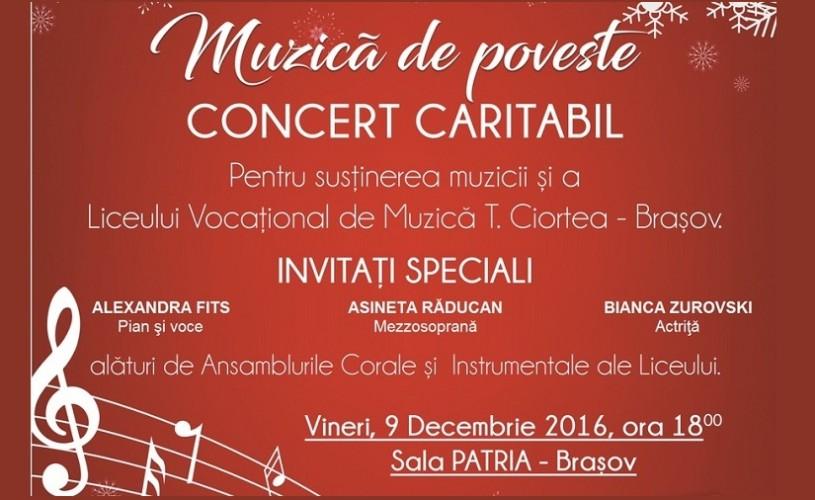 Muzică de poveste – concert caritabil