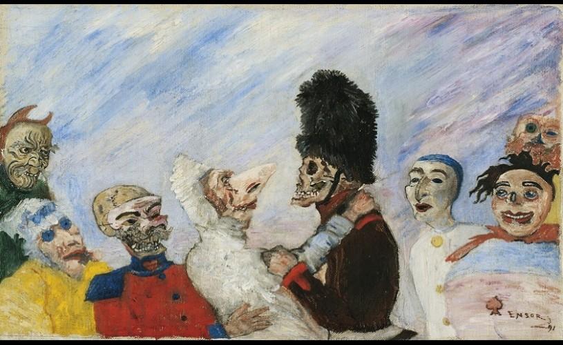 Un tablou de James Ensor, vândut pentru 7,4 milioane de euro
