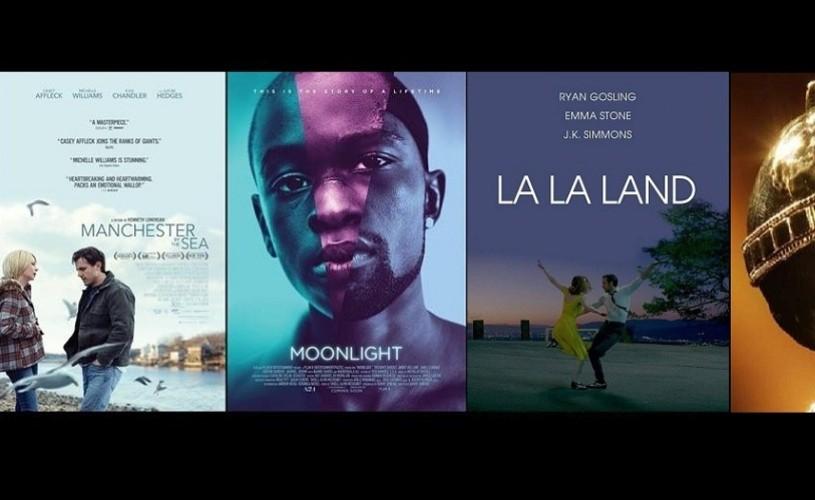 """""""La La Land"""" și """"Moonlight"""", cele mai multe nominalizări la Globurile de Aur"""