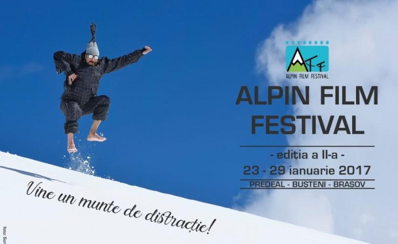 Alpin Film Festival 2017 aduce cultura montană și distracția în Brașov, Predeal și Bușteni