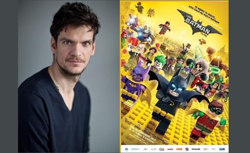 """Tudor Chirilă este Joker în varianta dublată a animației """"LEGO® Batman: Filmul"""""""