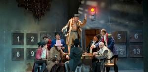 """""""Suflete moarte"""" (Teatrul de Comedie): Un spectacol-aspirină"""