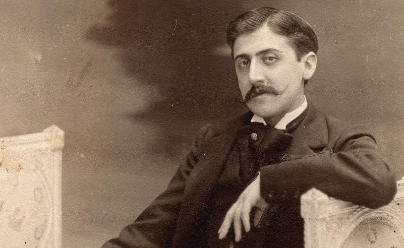 Marcel Proust, pe pelicula unui film din anul 1904