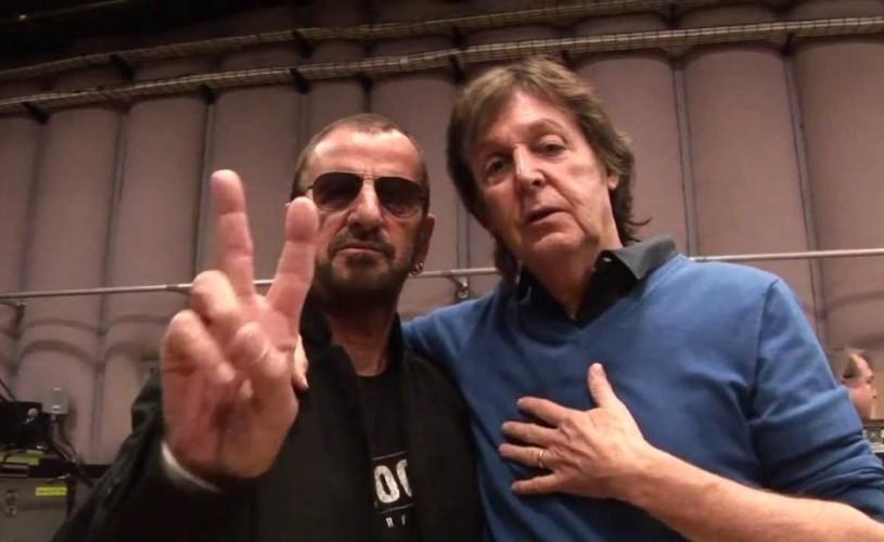 Paul McCartney și Ringo Starr, din nou împreună