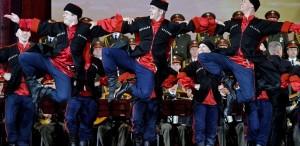 Corul Armatei Roșii,  primul concert după accidentul de avion